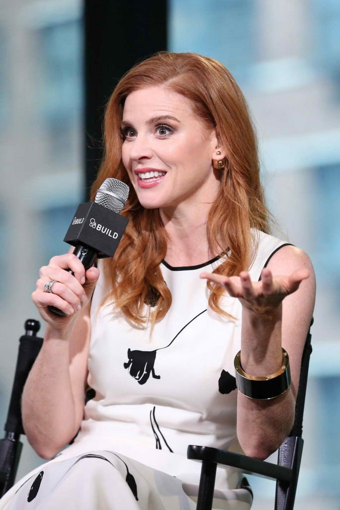 Sarah Rafferty at AOL Build Speaker Series in New York City 06/24/2016-3
