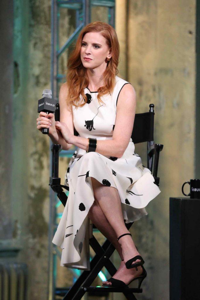 Sarah Rafferty at AOL Build Speaker Series in New York City 06/24/2016-5
