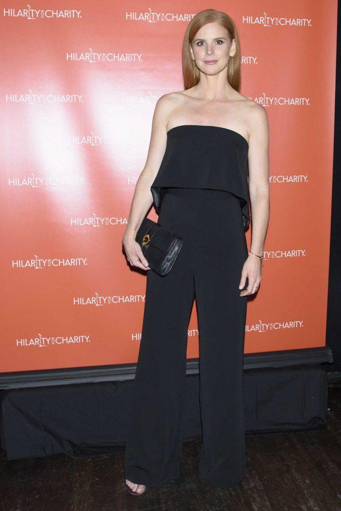 Sarah Rafferty at Hilarity for Charity at Highline Ballroom in New York City 06/29/2016-1