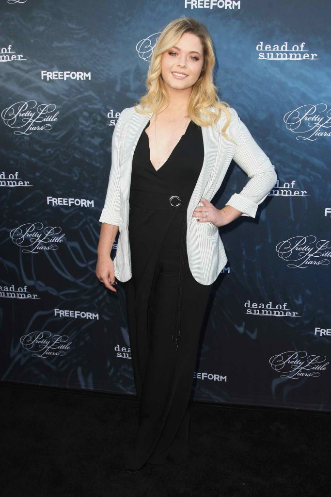 Sasha Pieterse at the Dead of Summer and Pretty Little Liars Screening in Los Angeles 06/15/2016-1