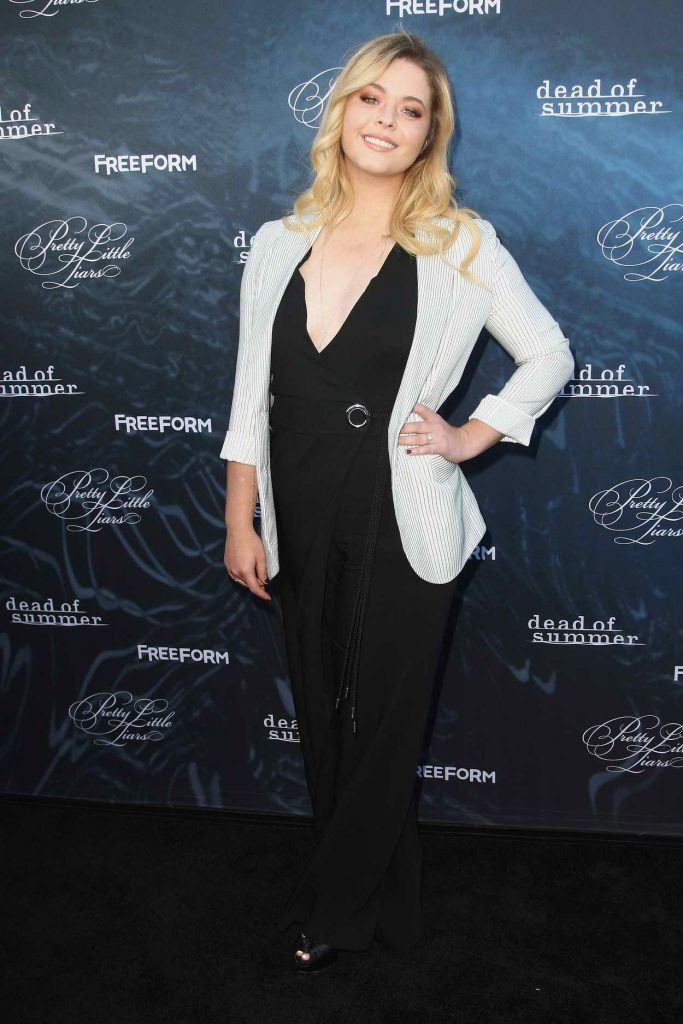 Sasha Pieterse at the Dead of Summer and Pretty Little Liars Screening in Los Angeles 06/15/2016-2