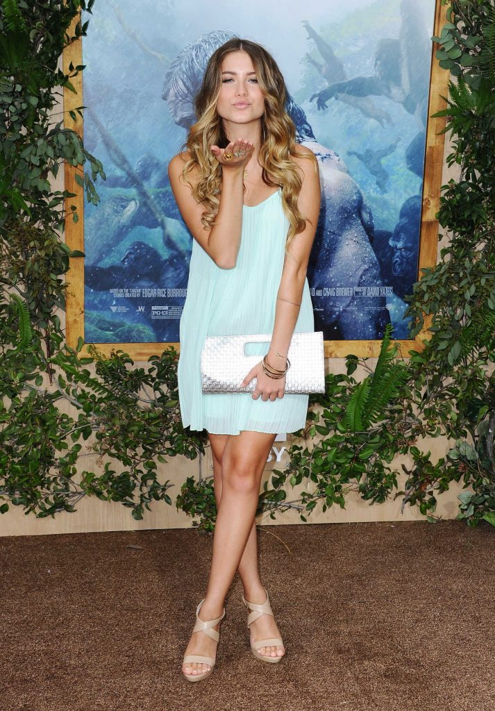 Sofia Reyes at The Legend Of Tarzan Premiere in Hollywood 06/27/2016-2
