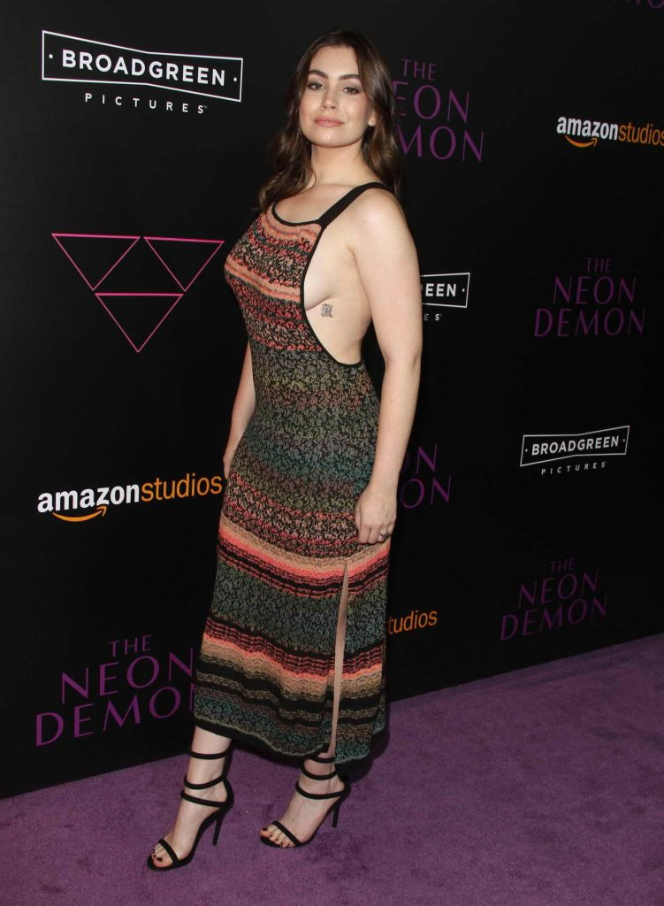 Sophie SImmons at The Neon Demon Los Angeles Premiere 06/14/2016-2