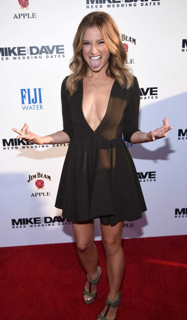 Sugar Lyn Beard at the Mike and Dave Need Wedding Dates Premiere in LA 06/29/2016-6