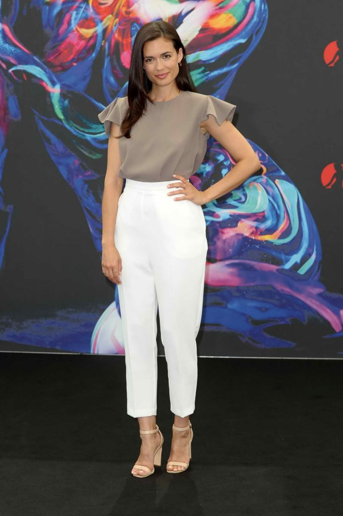 Torrey DeVitto at the Chicago Med Photocall During Monte Carlo Television Festival 06/14/2016-1