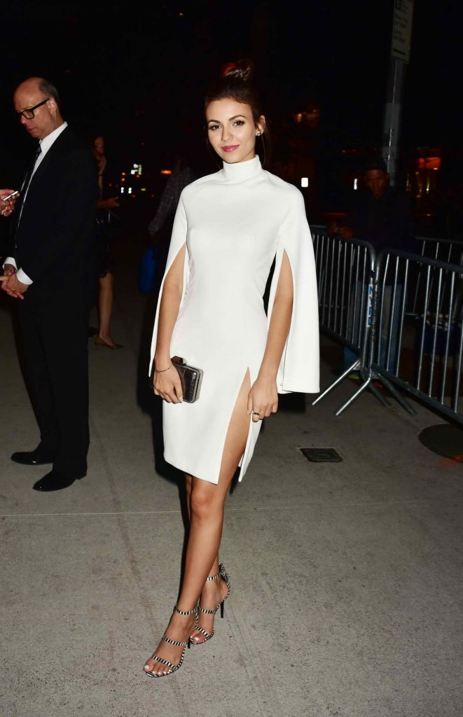 Victoria Justice at Tony Awards After Party at the Baccarat Hotel in New York 06/12/2016-1