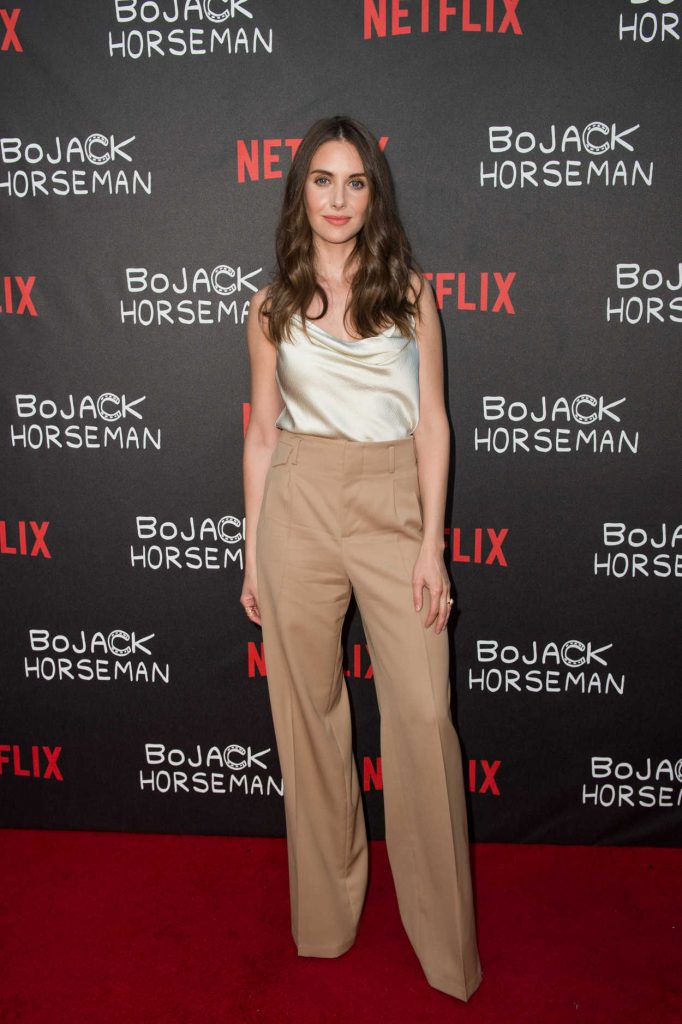 Alison Brie at Special Screening of Bojack Horseman at ArcLight in Hollywood 07/14/2016-1
