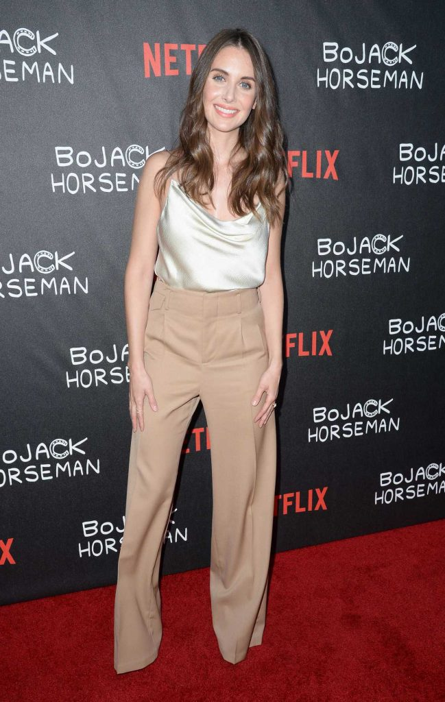 Alison Brie at Special Screening of Bojack Horseman at ArcLight in Hollywood 07/14/2016-2