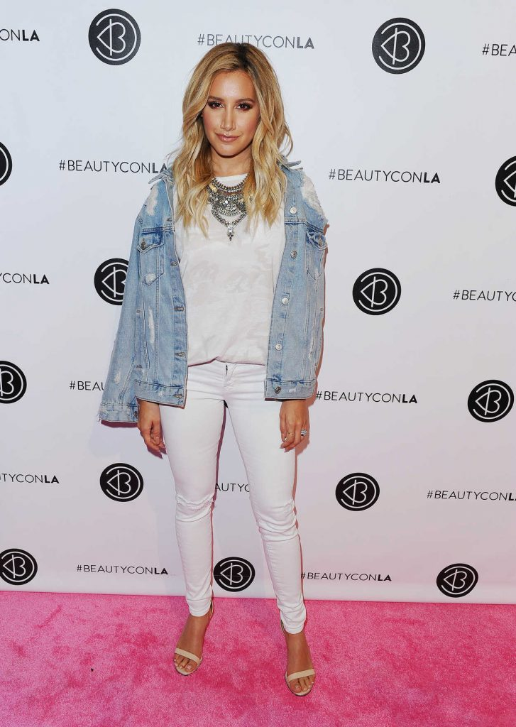 Ashley Tisdale at the 5th Annual Beautycon Festival in Los Angeles 07/09/2016-1