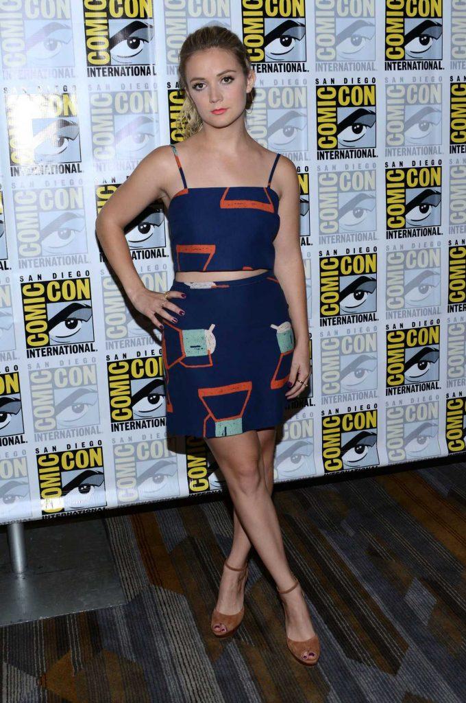 Billie Lourd at the Scream Queens Press Line at Comic-Con International in San Diego 07/22/2016-1