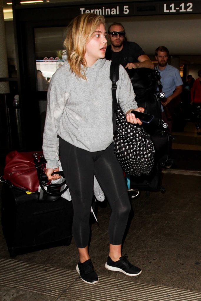 Chloe Moretz at LAX Airport in Los Angeles 07/29/2016-4