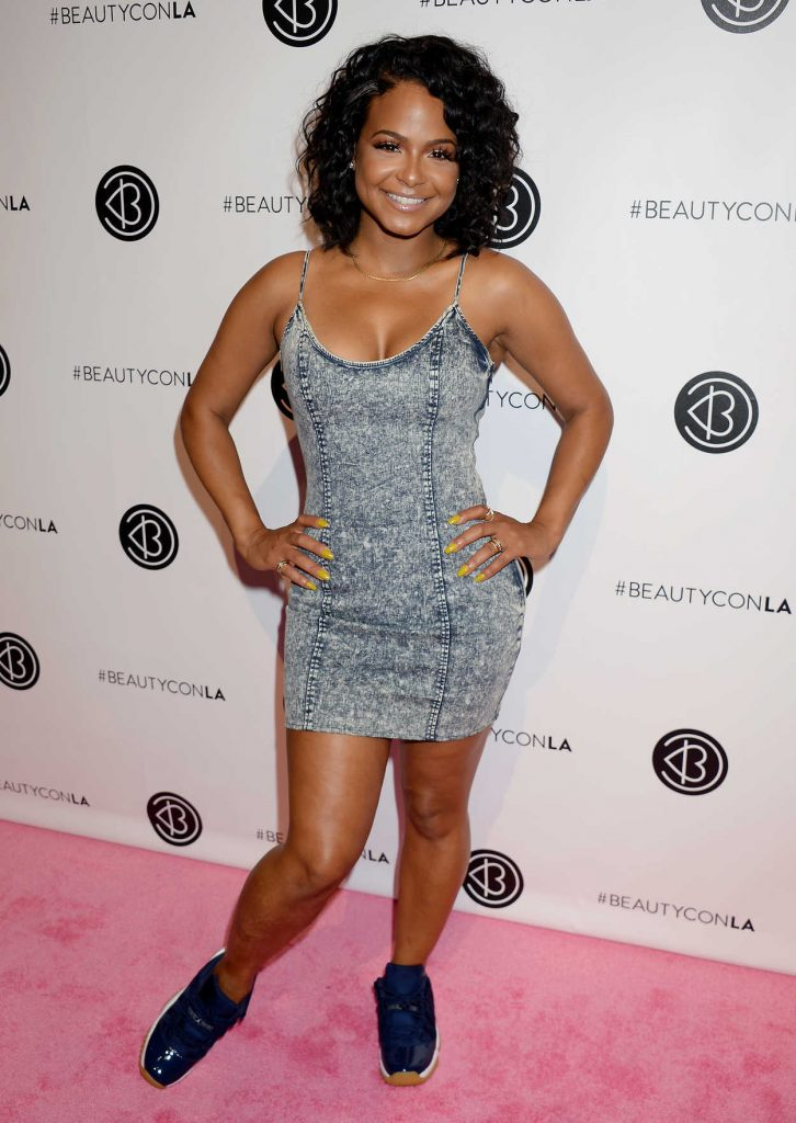 Christina Milian at the 5th Annual Beautycon Festival in Los Angeles 07/09/2016-1