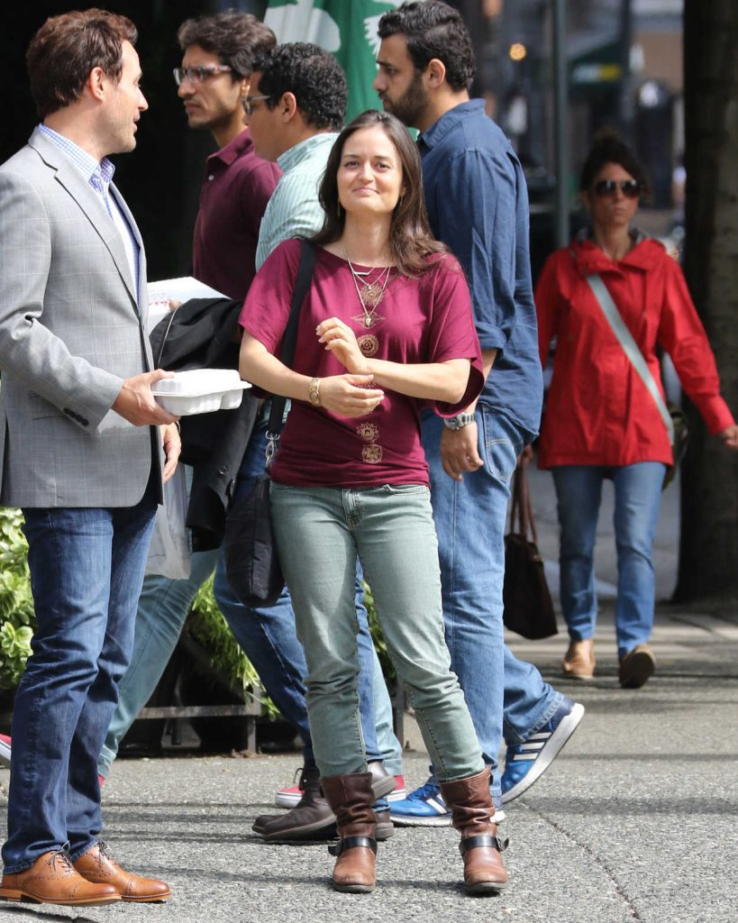 Danica McKellar Was Seen Out in Vancouver 07/17/2016-4