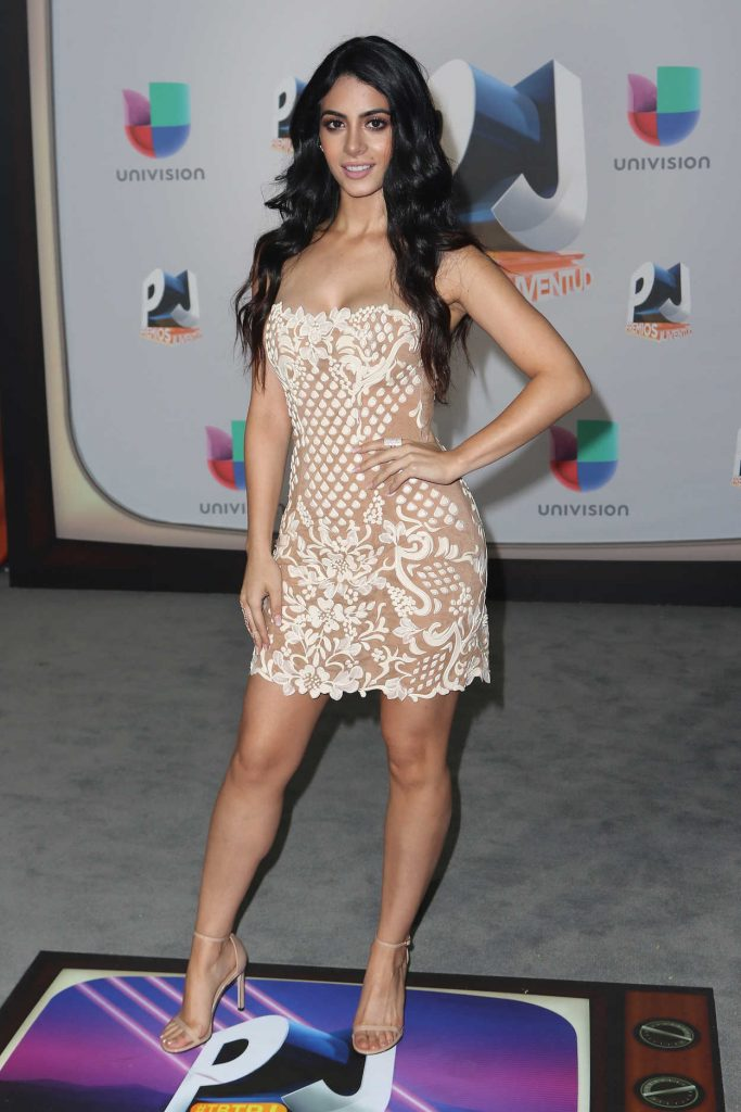 Emeraude Toubia at Univision's Premios Juventud in Miami 07/14/2016-1