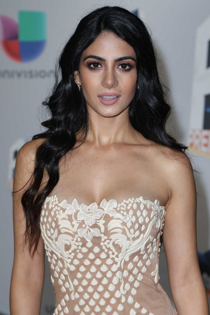 Emeraude Toubia at Univision's Premios Juventud in Miami 07/14/2016-3