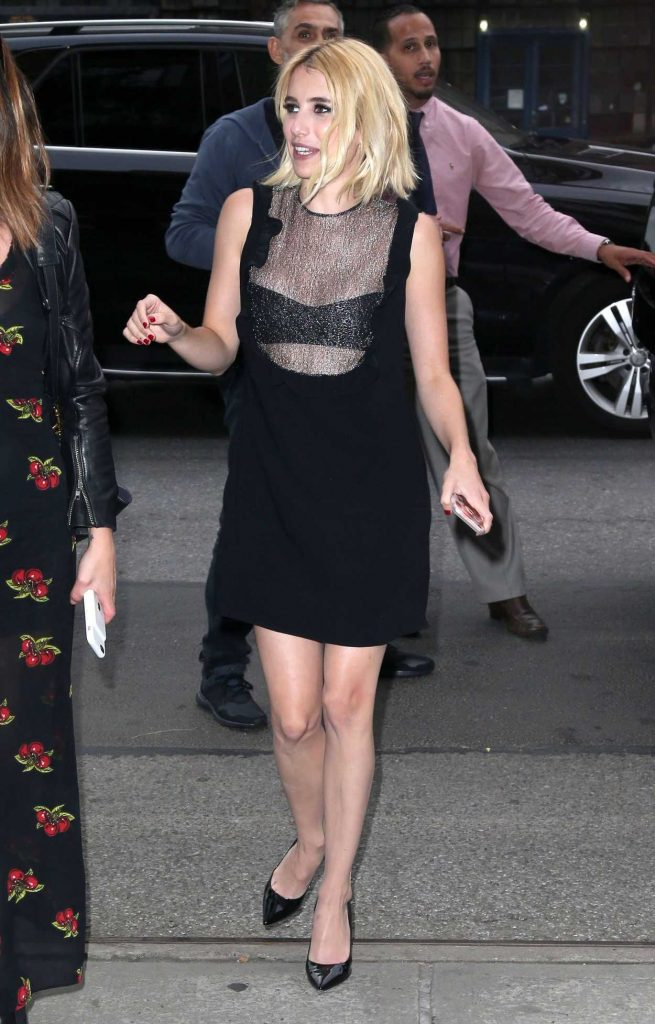 Emma Roberts Leaves the Bowery Hotel in New York 07/11/2016-1