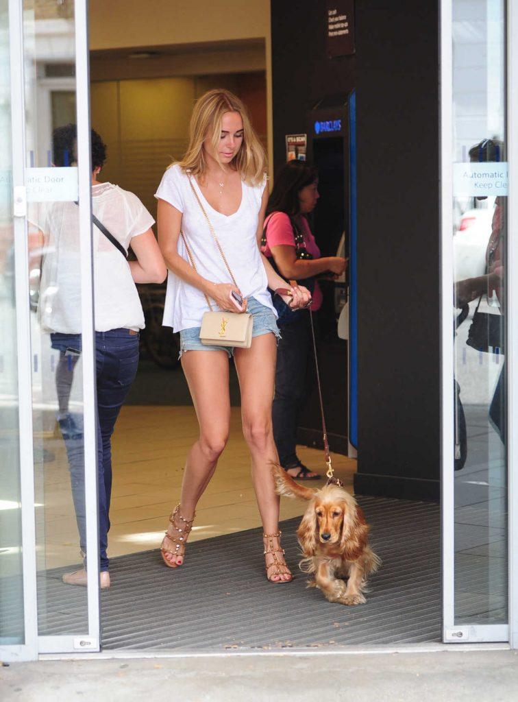 Kimberley Garner Walks Her Dog in Chelsea, London 07/25/2016-1