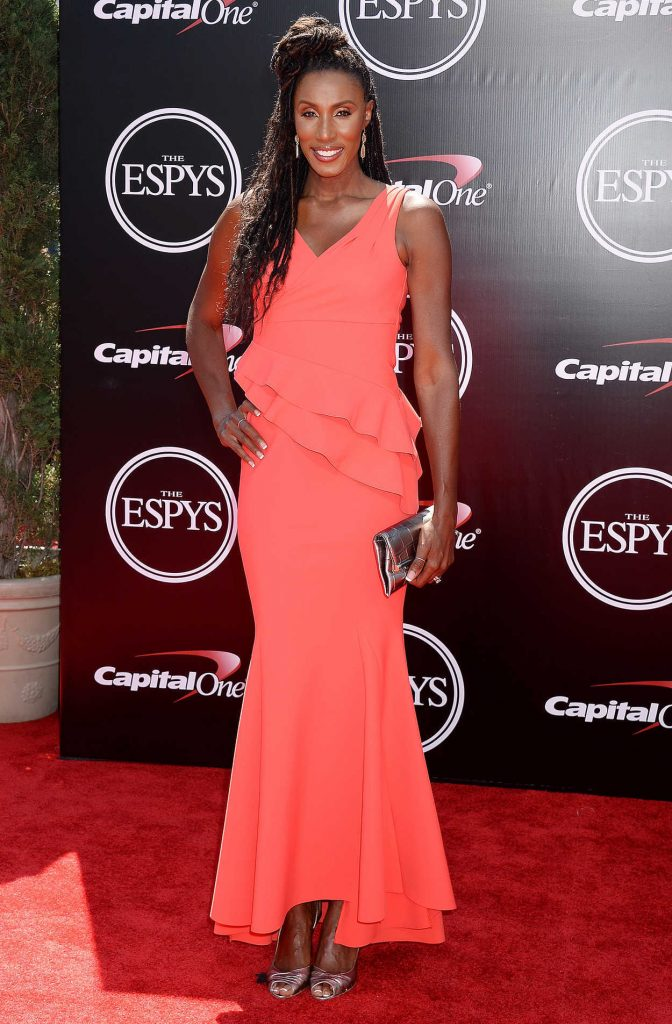 Lisa Leslie at ESPY Awards in Los Angeles 07/13/2016-1
