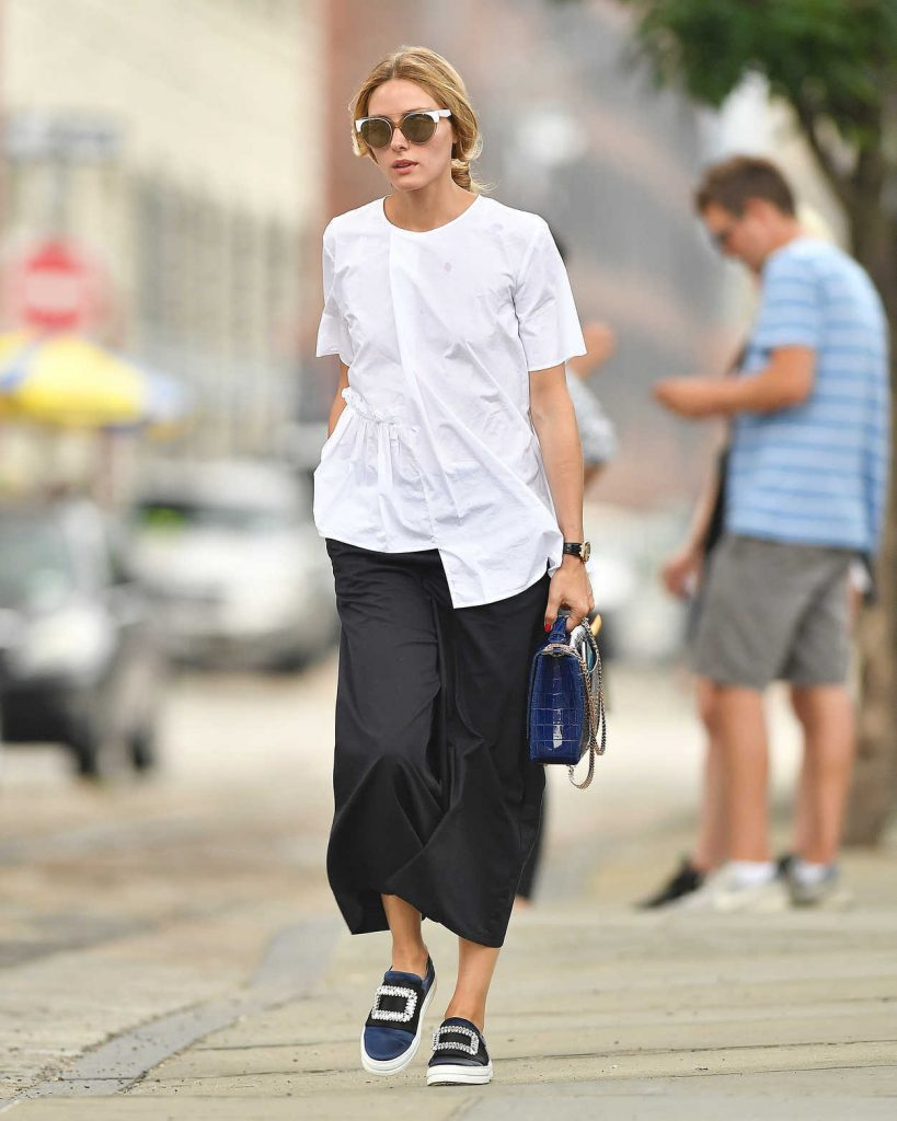 Olivia Palermo Was Seen Out in Brooklyn, New York 07/30/2016-2