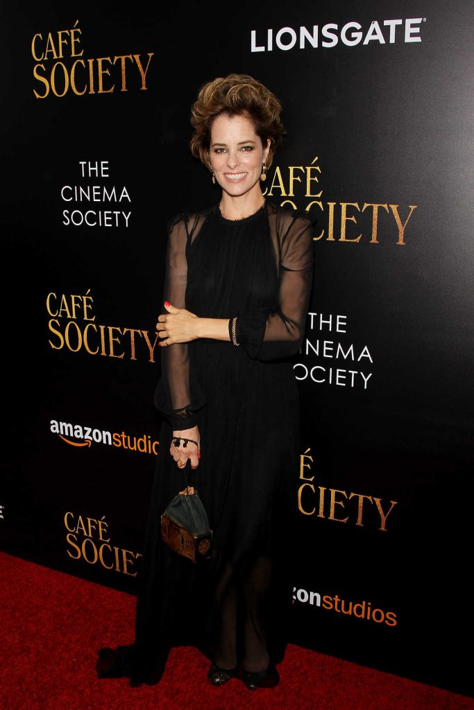 Parker Posey at Cafe Society Screening in New York City 07/13/2016-1