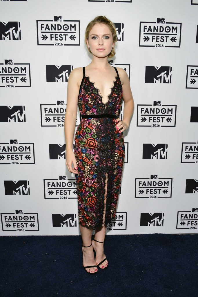 Rose McIver at MTV Fandom Awards in San Diego 07/21/2016-1