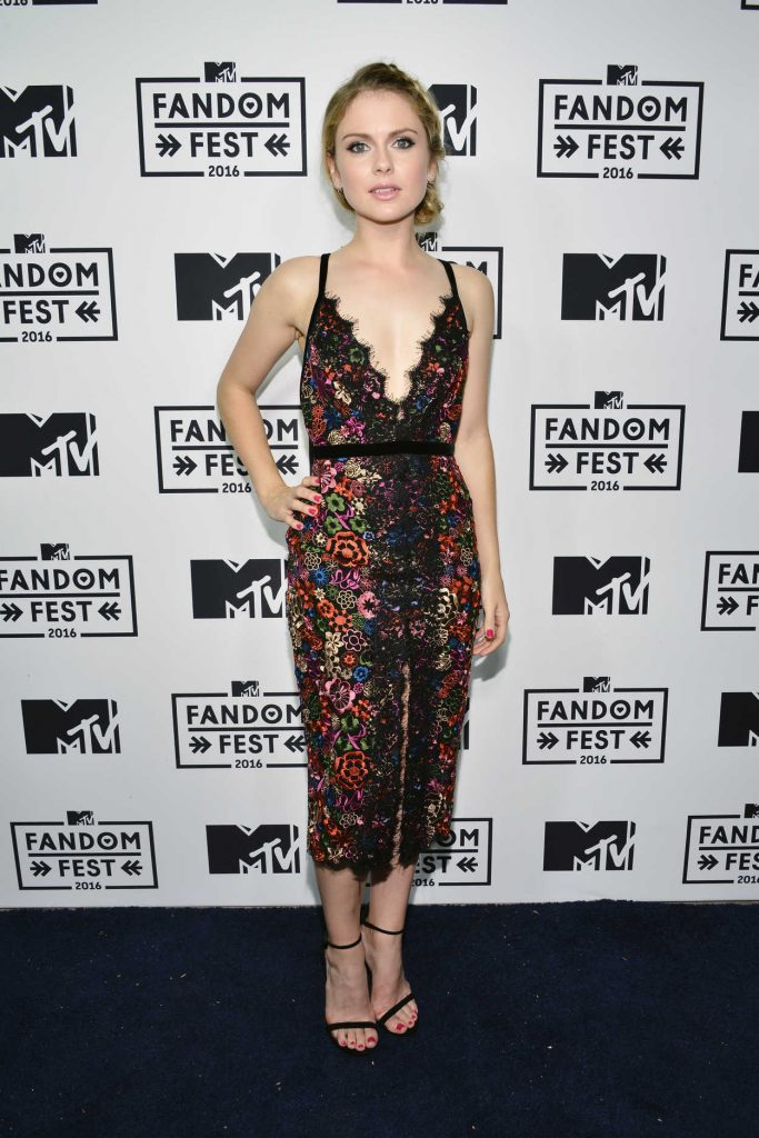 Rose McIver at MTV Fandom Awards in San Diego 07/21/2016-2