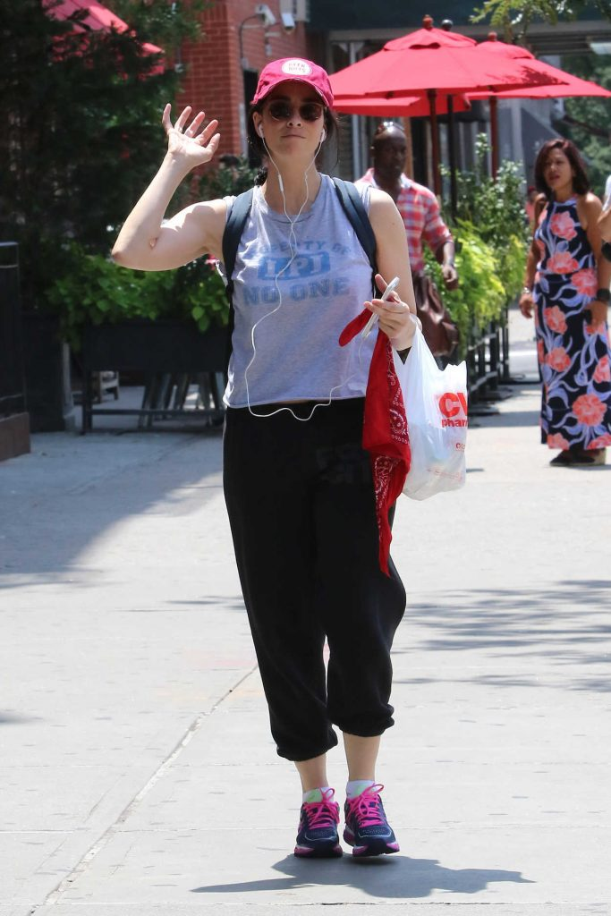 Sarah Silverman Was Seen Out in New York City 07/18/2016-1