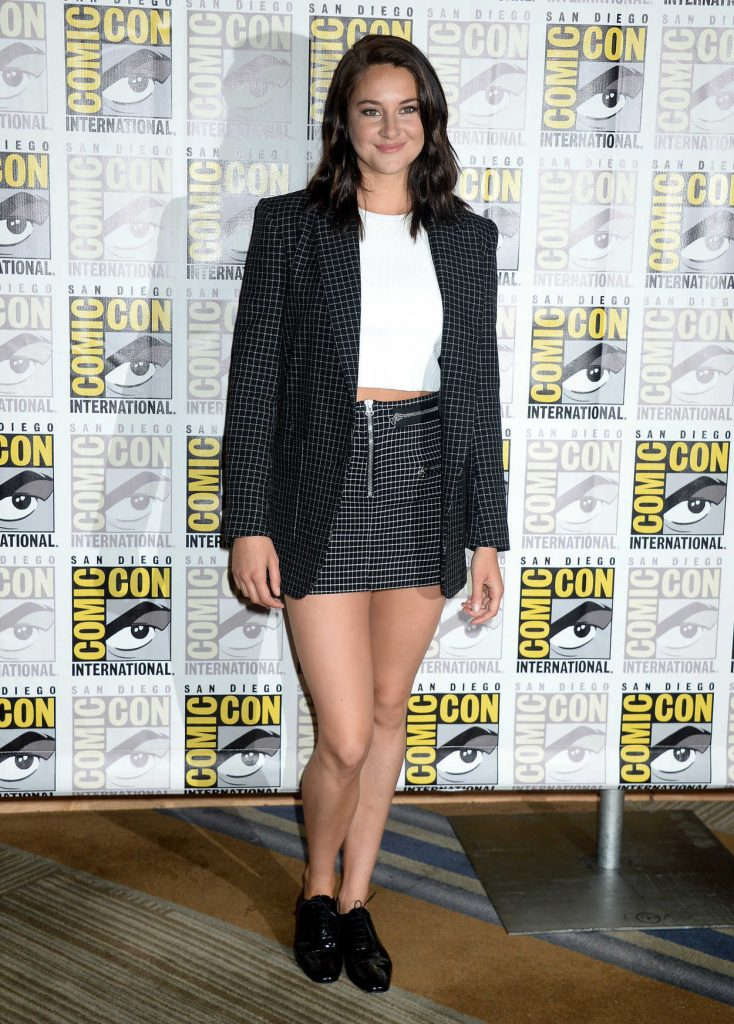 Shailene Woodley at the Snowden Press Line at Comic-Con International in San Diego 07/21/2016-1