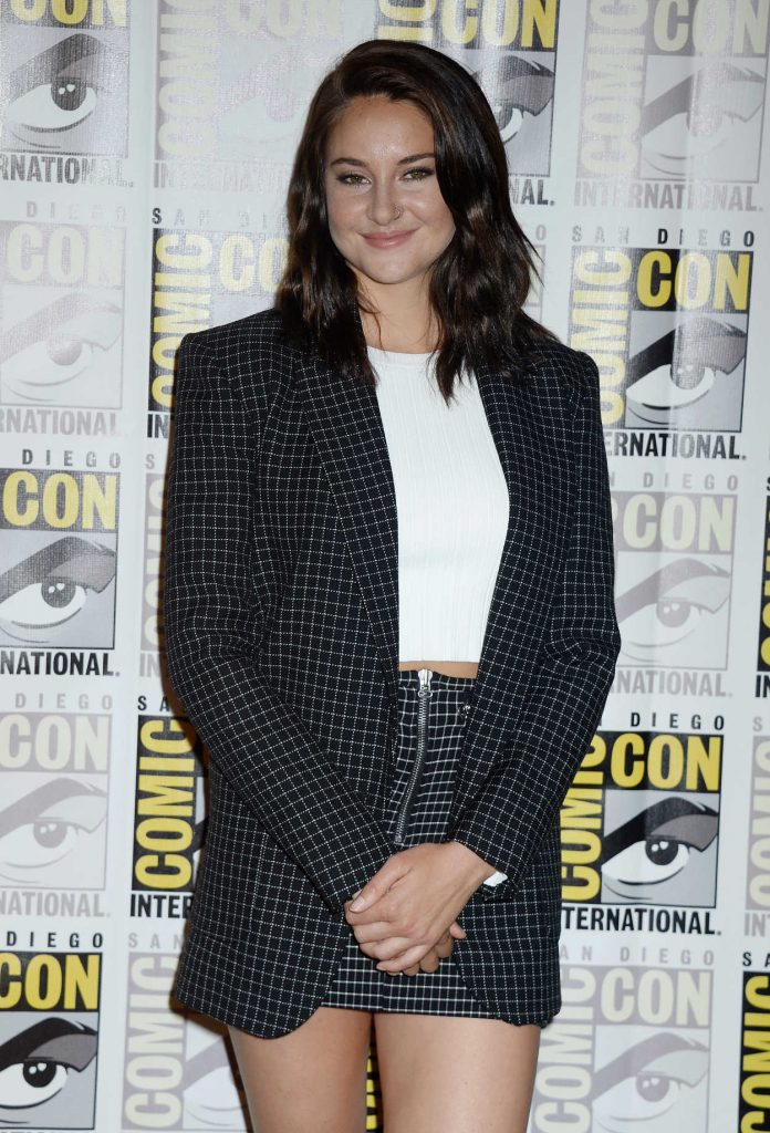 Shailene Woodley at the Snowden Press Line at Comic-Con International in San Diego 07/21/2016-3