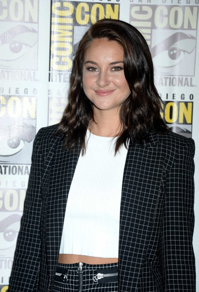 Shailene Woodley at the Snowden Press Line at Comic-Con International in San Diego 07/21/2016-5