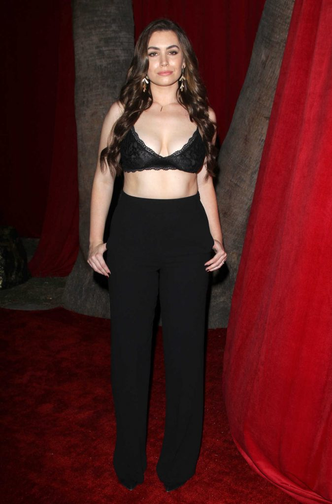 Sophie Simmons at the 2016 MAXIM Hot 100 Party at the Hollywood Palladium in Los Angeles 07/30/2016-1