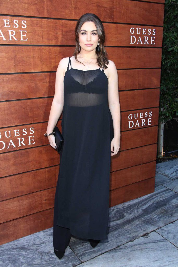 Sophie Simmons at the Launch of Guess Dare Fragrance in Los Angeles 07/27/2016-1