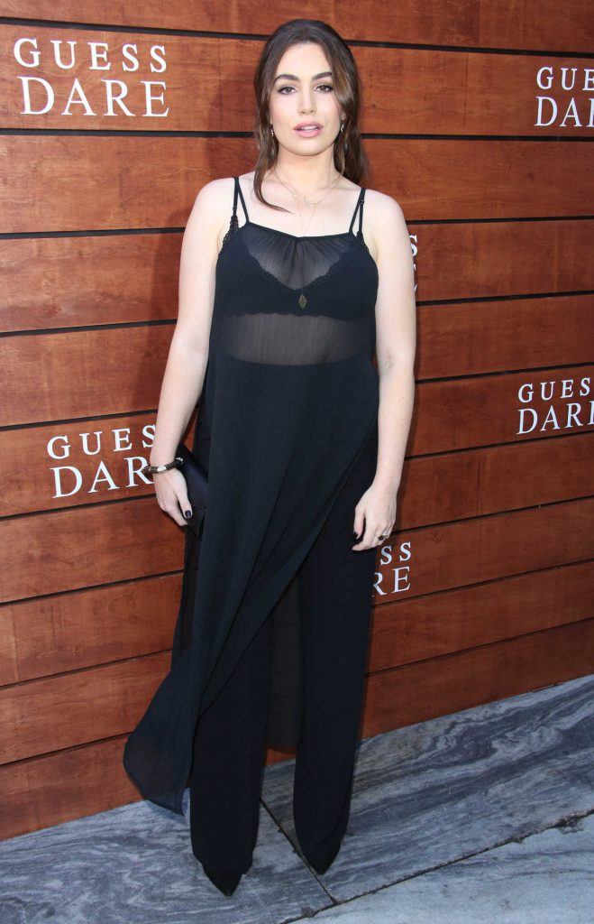 Sophie Simmons at the Launch of Guess Dare Fragrance in Los Angeles 07/27/2016-3