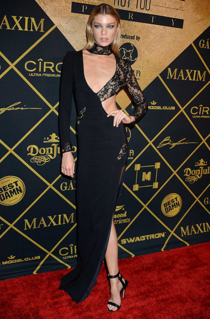 Stella Maxwell at the 2016 MAXIM Hot 100 Party at the Hollywood Palladium in Los Angeles 07/30/2016-1