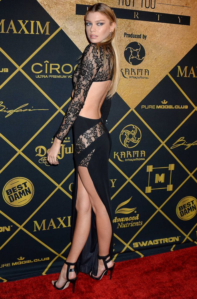 Stella Maxwell at the 2016 MAXIM Hot 100 Party at the Hollywood Palladium in Los Angeles 07/30/2016-2