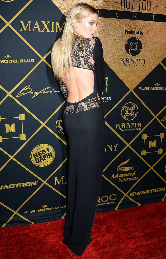 Stella Maxwell at the 2016 MAXIM Hot 100 Party at the Hollywood Palladium in Los Angeles 07/30/2016-3