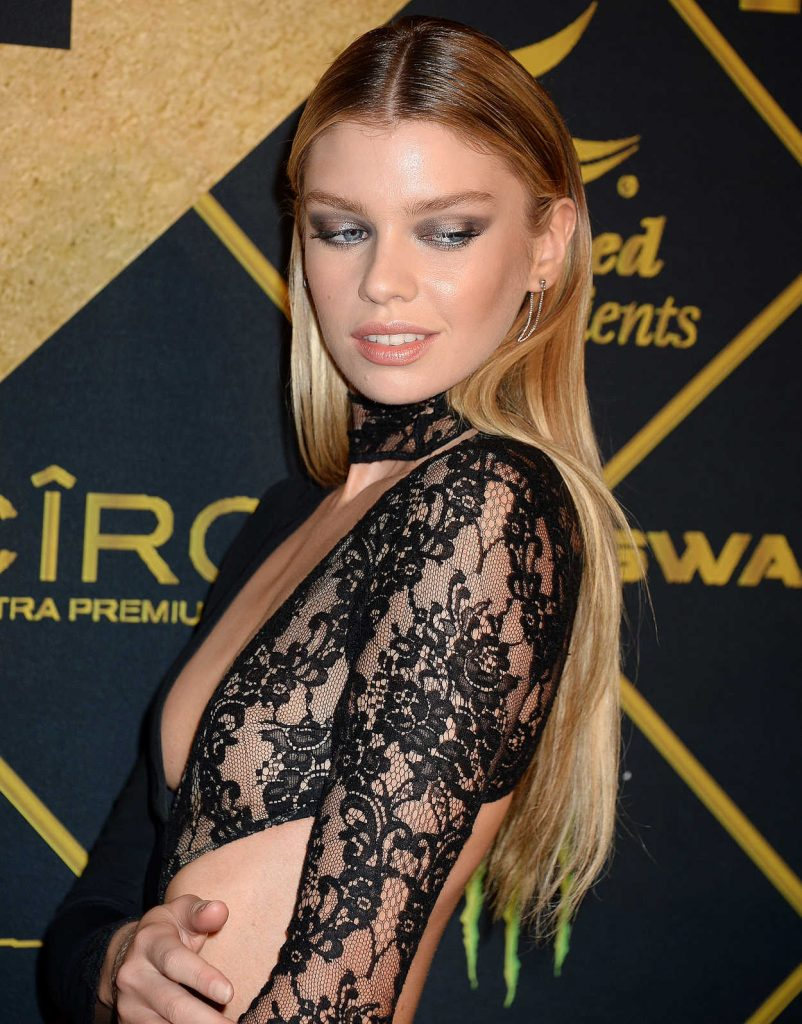 Stella Maxwell at the 2016 MAXIM Hot 100 Party at the Hollywood Palladium in Los Angeles 07/30/2016-5