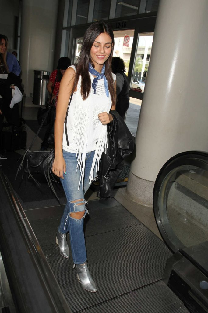 Victoria Justice at LAX Airport in Los Angeles 07/13/2016-1