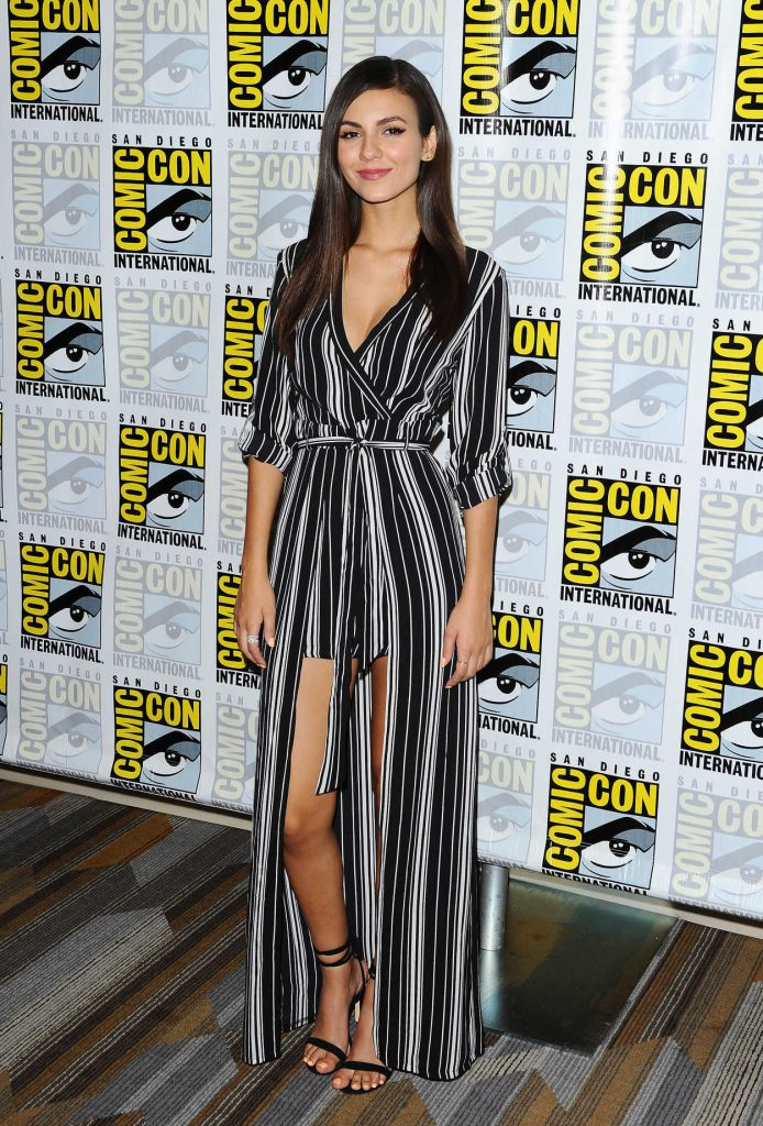 Victoria Justice at The Rocky Horror Picture Show Press Line at Comic-Con International in San Diego 07/21/2016-1