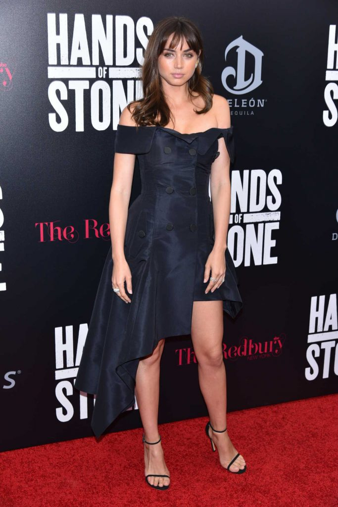 Ana de Armas at the Hands of Stone Premiere in New York 08/22/2016-1