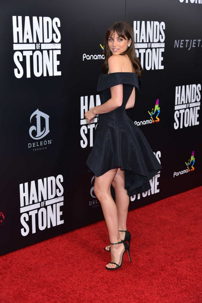 Ana de Armas at the Hands of Stone Premiere in New York 08/22/2016-2