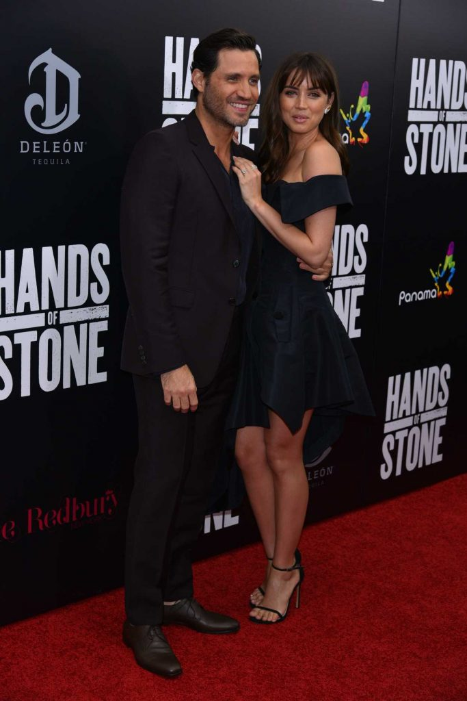 Ana de Armas at the Hands of Stone Premiere in New York 08/22/2016-5