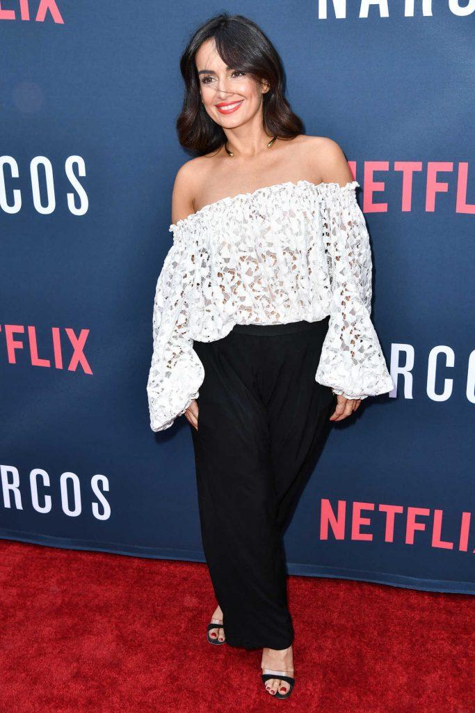 Ana de la Reguera at Narcos Season 2 Premiere at ArcLight Cinemas in Hollywood 08/24/2016-1