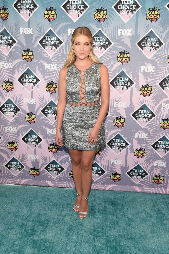 Ashley Benson at 2016 Teen Choice Awards in Inglewood 07/31/2016-2