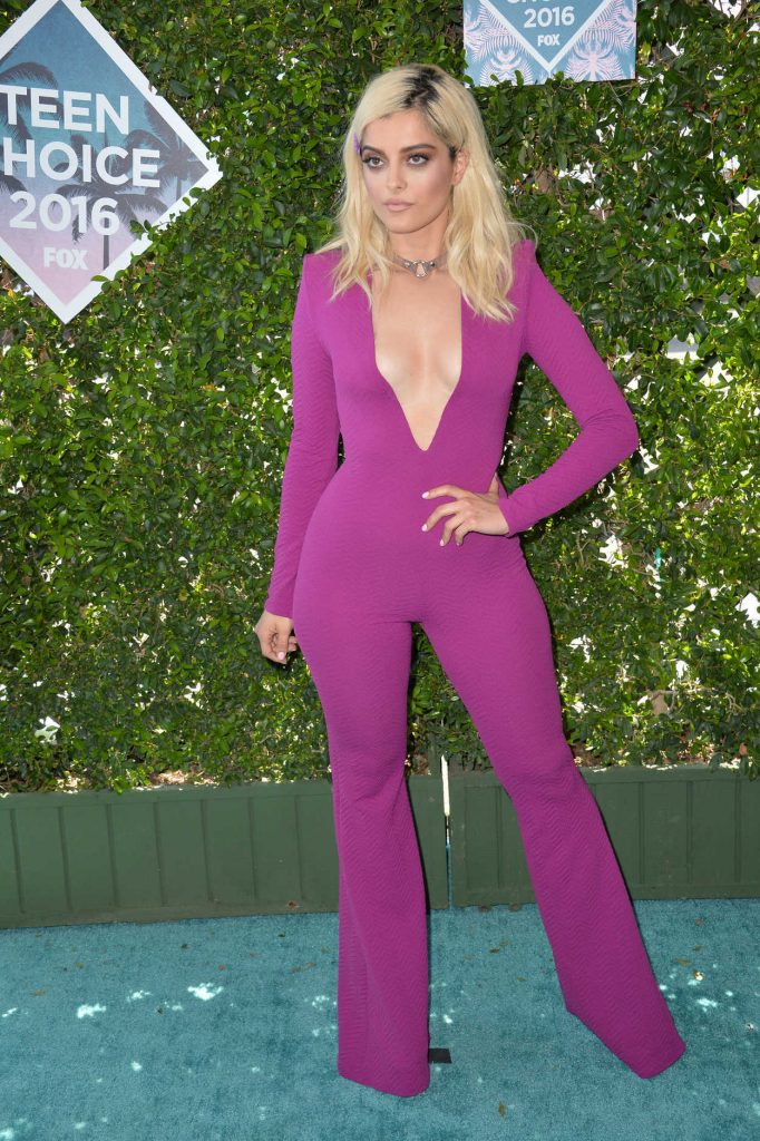 Bebe Rexha at 2016 Teen Choice Awards in Inglewood 07/31/2016-1
