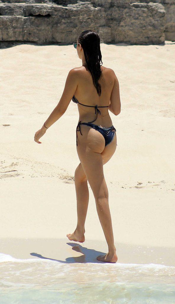 Bella Hadid in Bikini at the Beach in Turks and Caicos 08/12/2016-6