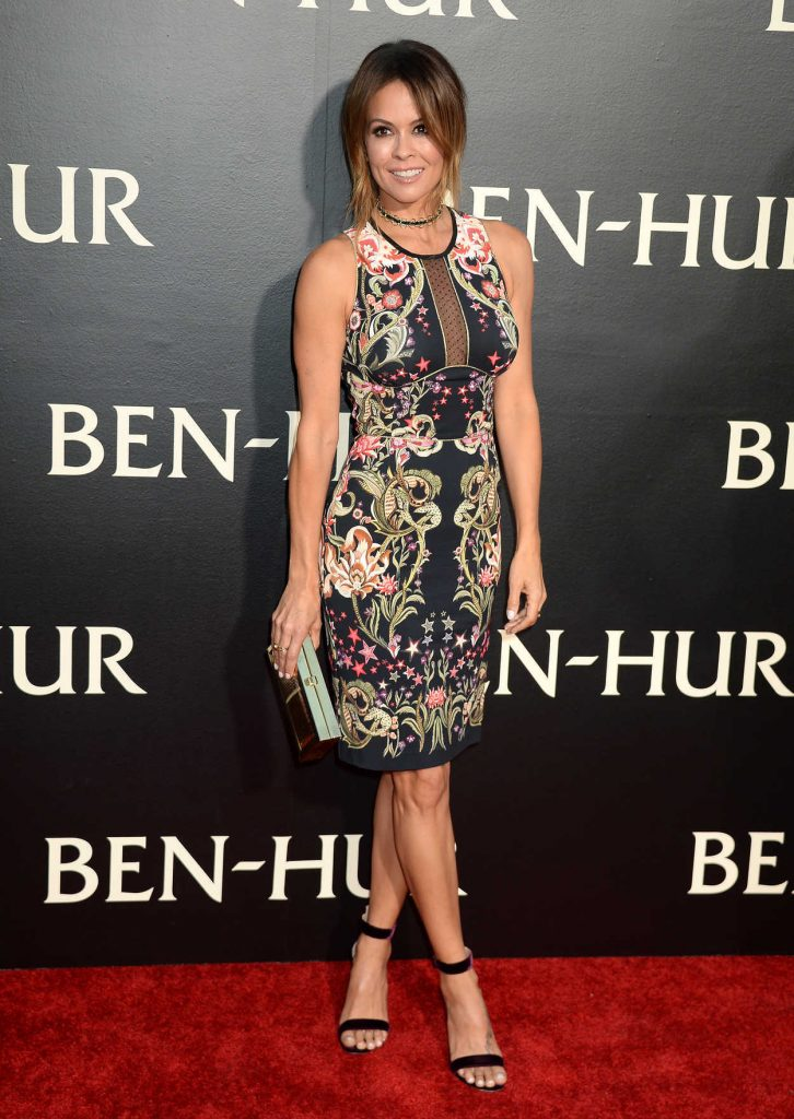Brooke Burke-Charvet at the Ben-Hur Premiere at TCL Chinese Theater in Los Angeles 08/16/2016-2