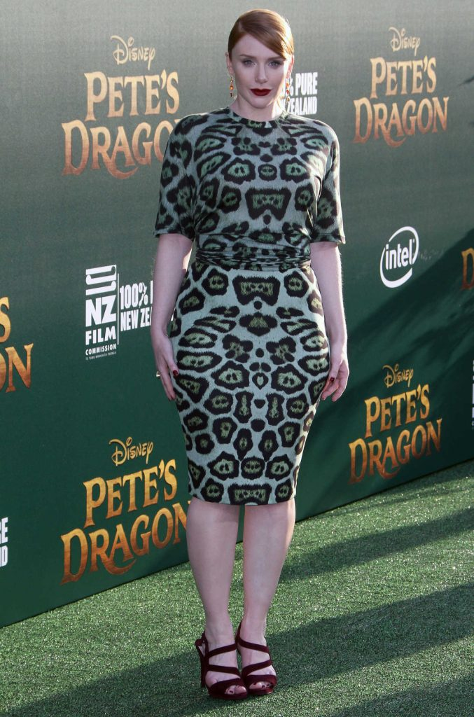 Bryce Dallas Howard at the Pete's Dragon Premiere in Los Angeles 08/08/2016-1