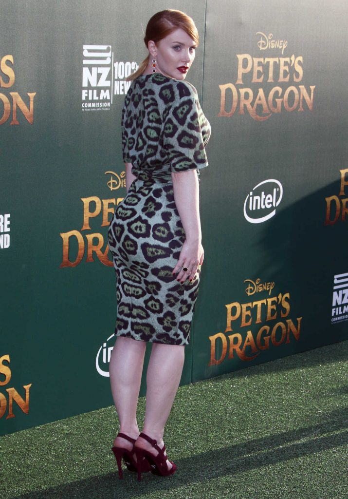 Bryce Dallas Howard at the Pete's Dragon Premiere in Los Angeles 08/08/2016-2