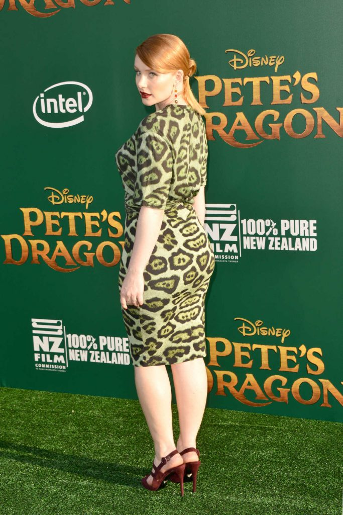Bryce Dallas Howard at the Pete's Dragon Premiere in Los Angeles 08/08/2016-3
